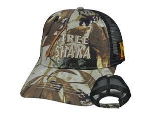 Swamp People Tree Shaka Guts Gator Alligator History Channel Mesh Camo Hat Cap
