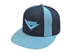 PONY NAVY LIGHT BLUE HAT CAP FLAT BILL UNISEX SMALL