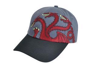 Games of Thrones House Targaryen Snapback Dragon Tv Show HBO Series Hat Cap Grey