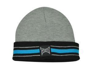 UFC MMA Cage Fight Tapout Cuffed Striped Toque Beanie Winter Knit Martial Arts