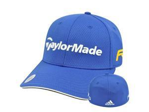 Adidas Ashworth Golf Hat Cap Penta Taylor Made R11 Blue Stretch Flex Fit L/XL