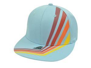 PONY LIGHT BLUE HAT CAP FLEX FIT UNISEX MEDIUM LARGE