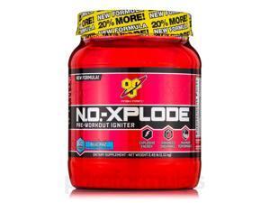 N.O.-Xplode Pre-Workout Igniter Blue Raspberry - 60 Servings (2.45 lbs, 1.11 Kg)