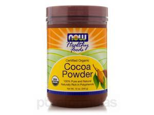 Cocoa Powder (Organic) - 12 oz (340 Grams) by NOW
