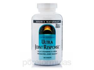 Ultra Joint Response - 180 Tablets by Source Naturals