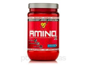 Amino X Blue Raspberry - 30 Servings (15.3 oz / 435 oz) by BSN