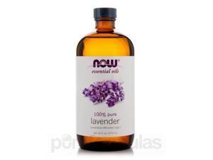 NOW Essential Oils - Lavender Oil - 16 fl. oz (473 ml) by NOW