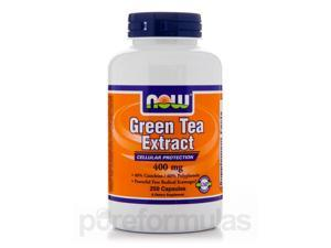 Green Tea Extract 400 mg - 250 Capsules by NOW