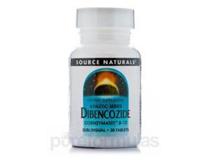 Dibencozide Sublingual 10 mg - 30 Tablets by Source Naturals