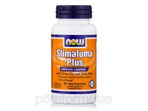 Slimaluma Plus with Green Tea and Yerba Mate - 60 Veg Capsules by NOW