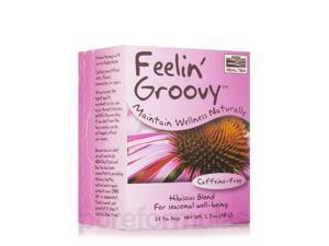 NOW? Real Tea - Feelin Groovy Tea Bags - Box of 24 Packets by NOW