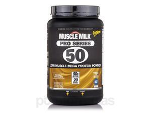 GF Muscle Milk Pro Series 50 Chocolate - 2.54 lbs (40.7 oz / 1154 Grams) by Cyto