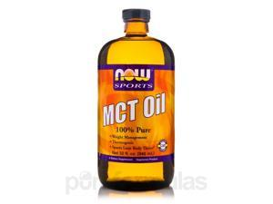 NOW Sports - MCT Oil - 32 fl. oz (946 ml) by NOW