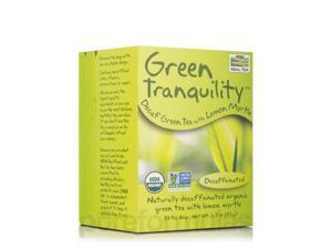 NOW Real Tea - Green Tranquility Tea Bags - Box of 24 Packets by NOW
