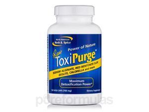 ToxiPurge 700 mg - 120 Vegi Caps by North American Herb and Spice