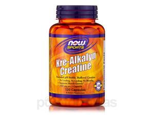NOW Sports - Kre-Alkalyn Creatine - 120 Capsules by NOW