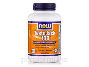 TestoJack 100 - 120 Veg Capsules by NOW