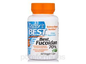 Best Fucoidan 70% - 60 Veggie Capsules by Doctor's Best
