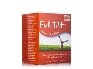 NOW? Real Tea - Full Tilt Tea Bags, Energy Tea Blend - Box of 24 Packets by NOW
