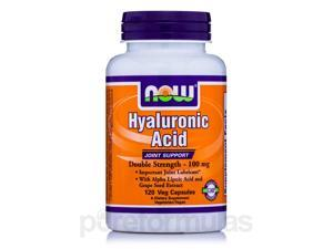 Hyaluronic Acid 100 mg - 120 Vegetarian capsules by NOW