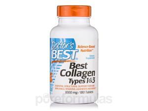 Best Collagen Types 1 & 3 - 1000 mg - 180 Tablets by Doctor's Best