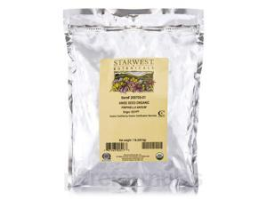 Organic Anise Seed - 1 lb (453.6 Grams) by Starwest Botanicals