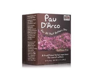 NOW Real Tea - Pau D'Arco Tea Bags - Box of 24 Packets by NOW