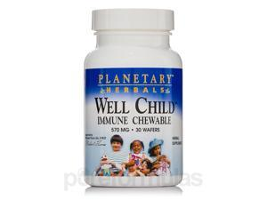 Well Child Immune Chewable 570 mg - 30 Wafers by Planetary Herbals