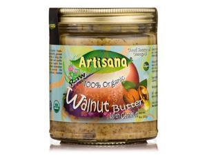Organic Raw Walnut Butter - 8 oz (227 Grams) by Artisana