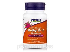 Methyl B-12 10000 mcg - 60 Lozenges by NOW