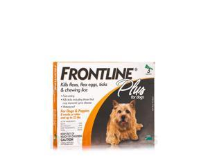 Frontline Plus for Dogs and Puppies (8 weeks or older and up to 22 lbs) - 3 App