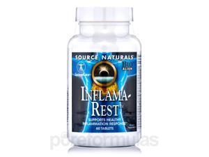 Inflama-Rest - 60 Tablets by Source Naturals