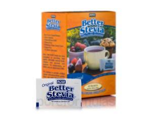 Better Stevia Extract Packets, Original - Box of 45 Packets by NOW