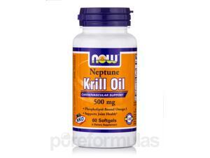 Neptune Krill Oil 500 mg - 60 Softgels by NOW