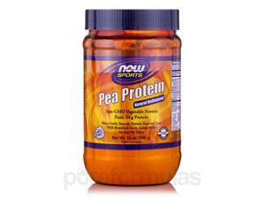 NOW Sports - Pea Protein, Natural Unflavored - 12 oz (340 Grams) by NOW