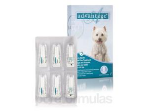 Advantage? for Dogs and Puppies (7 weeks and older, 11-20 lbs) - Six Tubes (0.03