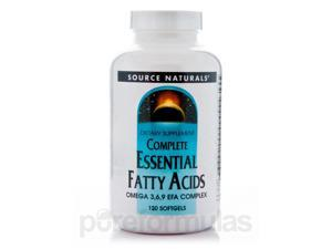 Complete Essential Fatty Acid - 120 Softgels by Source Naturals