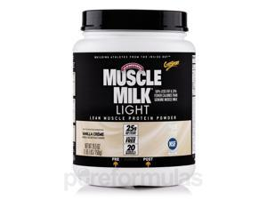 Muscle Milk Light Vanilla Creme - 1.65 lbs (26.5 oz / 750 Grams) by CytoSport