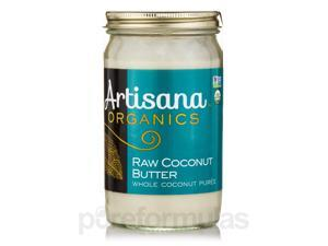 Organic Raw Coconut Butter - 14 oz (397 Grams) by Artisana