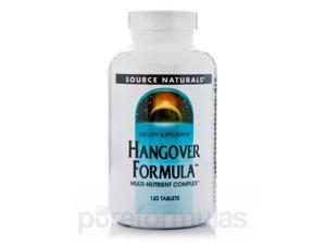 Hangover Formula - 120 Tablets by Source Naturals