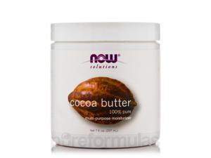 NOW Solutions - Cocoa Butter (100% Pure) - 7 fl. oz (207 ml) by NOW