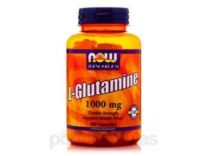 NOW Sports - L-Glutamine 1000 mg - 120 Capsules by NOW