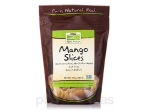 NOW Real Food - Mango Slices (Low Sodium) - 10 oz (284 Grams) by NOW