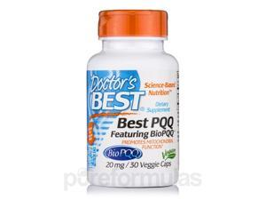 PQQ with BioPQQ 20 mg - 30 Veggie Capsules by Doctor's Best