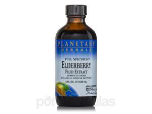 Full Spectrum Elderberry Fluid Extract - 4 fl. oz (118.28 ml) by Planetary Herba
