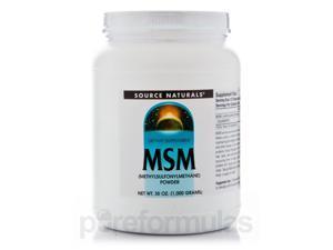 MSM Powder - 35 oz (1000 Grams) by Source Naturals