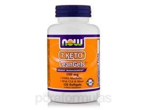 7-KETO LeanGels 100 mg - 120 Softgels by NOW