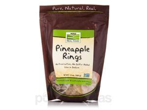 NOW Real Food - Pineapple Rings (Low Sodium) - 12 oz (340 Grams) by NOW