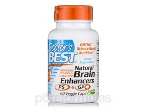 Natural Brain Enhancers with GPC & PS - 60 Veggie Capsules by Doctor's Best