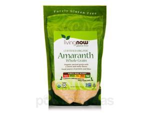 LivingNow Amaranth Grain (Organic) - 16 oz (454 Grams) by NOW